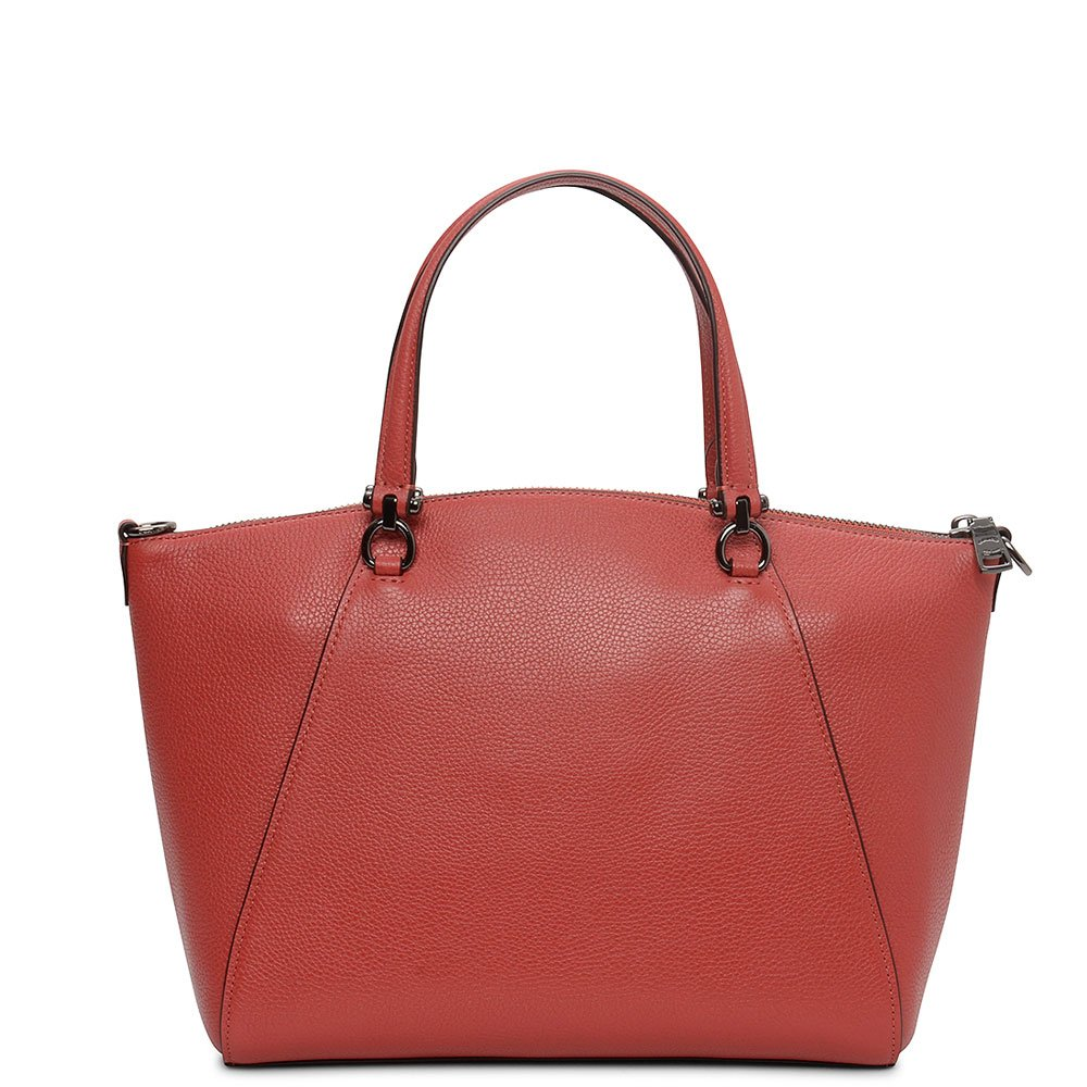 COACH Women s Pebbled Prairie Satchel Dk Washed Red One Size  Handbags   Amazon.com 8ea48abf384b3