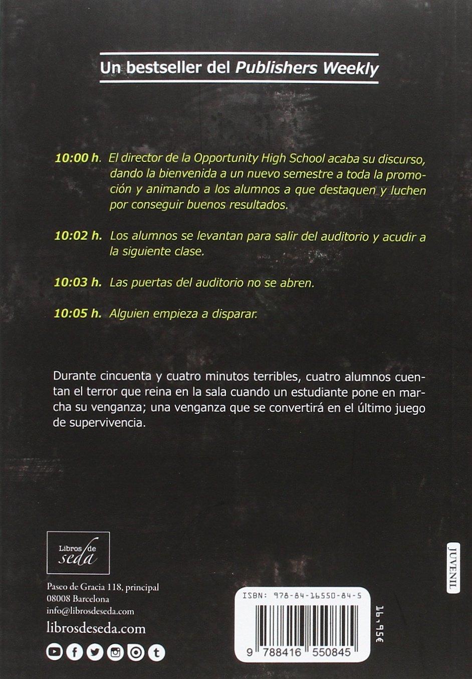 Balas en la pizarra (Spanish Edition): Marieke Nijkamp, Libros de Seda: 9788416550845: Amazon.com: Books