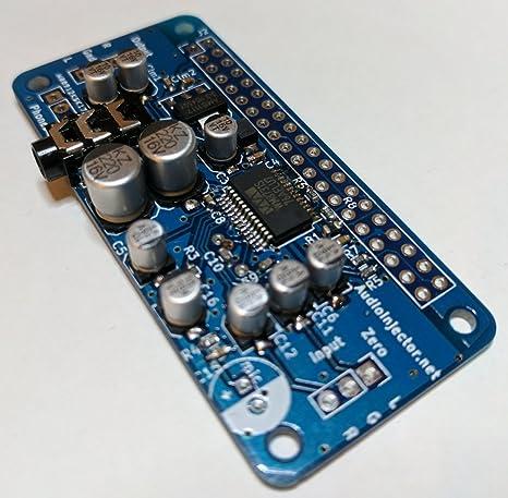 Audio Inyector Cero Tarjeta de Sonido para Raspberry Pi