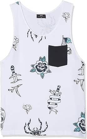 Inside 7EFT15 Camiseta de Tirantes, Blanco (Blanco 90), X-Small (Tamaño del Fabricante:XS) para Hombre: Amazon.es: Ropa y accesorios