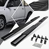 5 Inches Chrome Oval Running Board Side Step Nerf Bar Compatible with Dodge Ram Truck Crew Cab 09-15