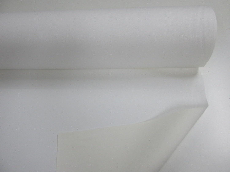 """Corte De Tela De Poliéster Algodón Material 50//50 o más si así lo requiere Blanco 100/"""" X 40/"""""""