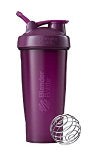 BlenderBottle Classic Loop Top Shaker Bottle, 28-Ounce, Plum/Plum