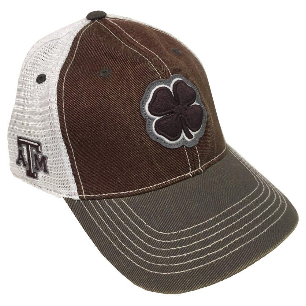 c61c8aa537c Black Clover Maroon White Texas A M 2-Tone Vintage Snapback Hat at Amazon  Men s Clothing store