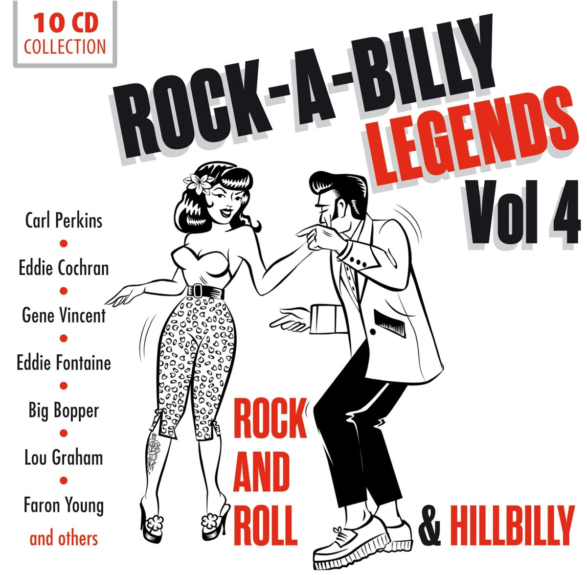 Rock-A-Billy Legends Vol. 4 - Roll Ranking TOP12 Rock And Max 71% OFF Hillbilly