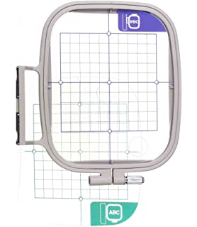 4 x 4inch Embroidery Hoop w/Placement Grids for Brother PE-700, PE700II