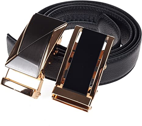 "Leather Fashion ratchet belt alloy Belt buckle Auto Lock For Wide 1.4/"" 3.5cm"