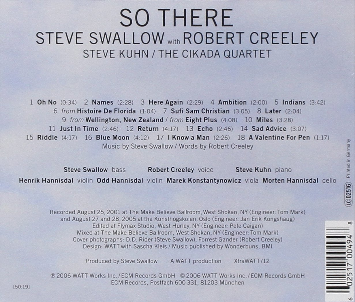 So There by Ecm