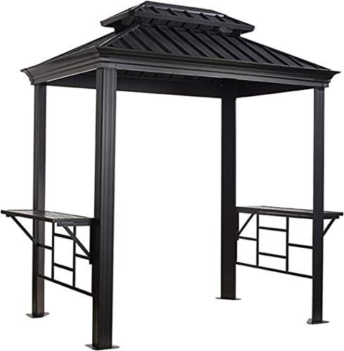 Sojag 500-8162387 Messina BBQ Shelter, 6 x 8 , Charcoal