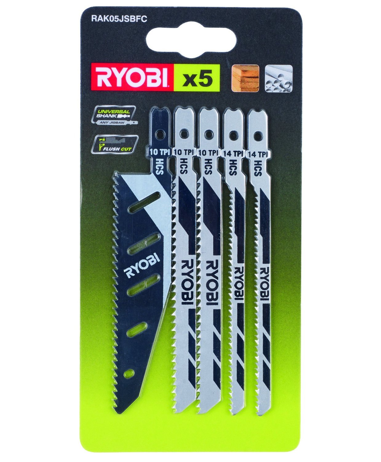 Ryobi rak05jsbfc tile specialty kit 5 piece 691044937973 ebay product description 5 piece jigsaw blade keyboard keysfo Gallery