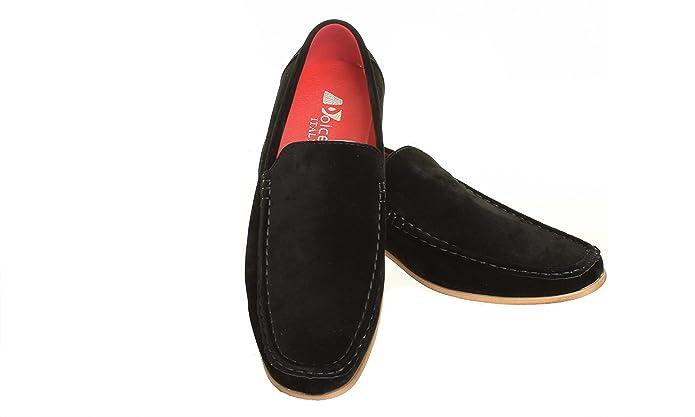Back on Track Mocasines de Ante Para Hombre, Color Negro, Talla 40 EU: Amazon.es: Zapatos y complementos