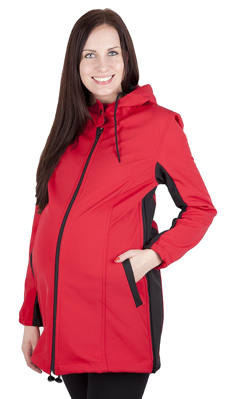 Mija 2 in1 Comfortable Maternity Pregnancy warm and elegant coat jacket 100% Softshell 3059