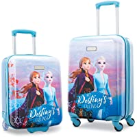AMERICAN TOURISTER Disney Hardside Luggage with Spinner Wheels, Frozen, 2-Piece Set (18/21)