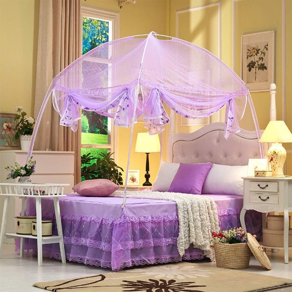 HEXbaby Mongolian Mosquito net Three-Door Mosquito net Folding Mosquito net Travel Mosquito net Outdoor Mosquito Insect net,1.5x2m