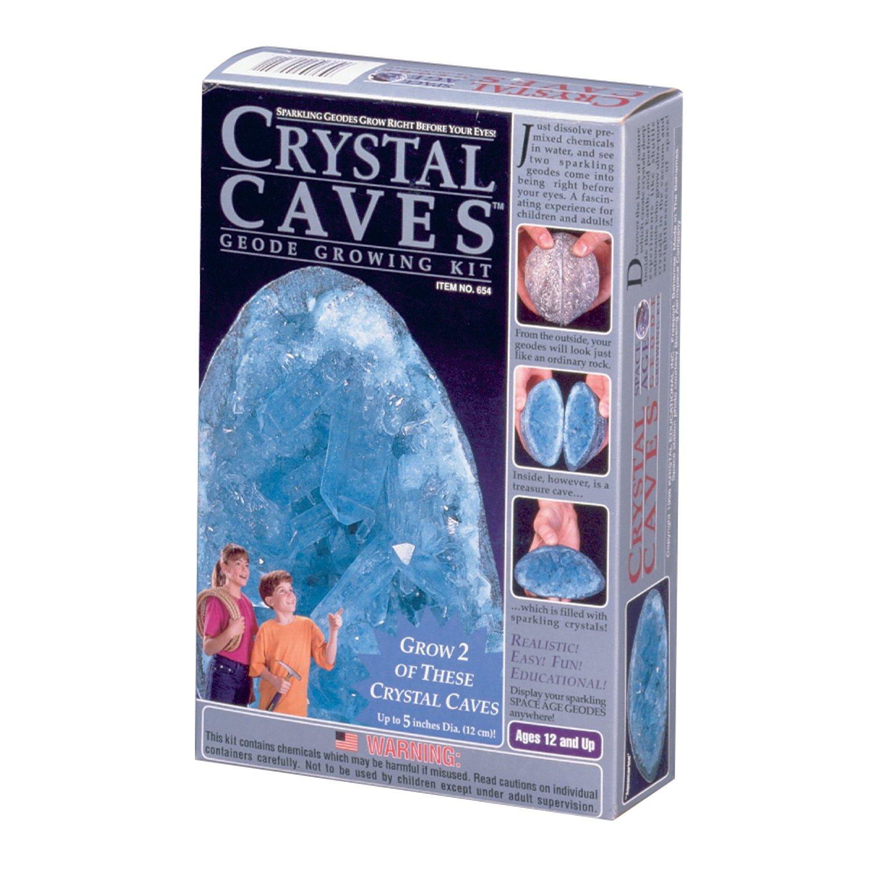 Crystal Caves: 2 Aquamarine Geodes