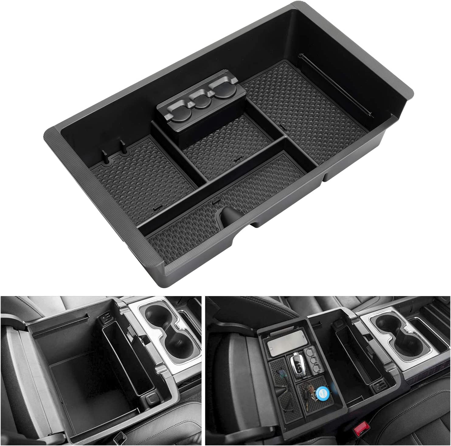 2015 to 2018 Chevrolet Suburban Hidden Console Subwoofer Box 2016 2017 Chevy