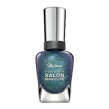 Sally Hansen - Complete Salon Manicure Nail Color, Metallics, Black and Blue