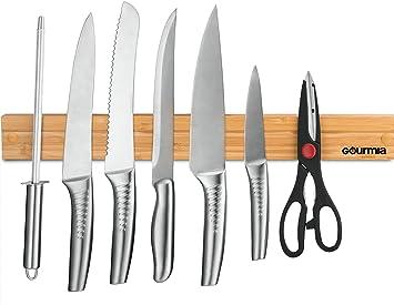 gourmia gmk9920 - Soporte magnético para cuchillos fuerte ...