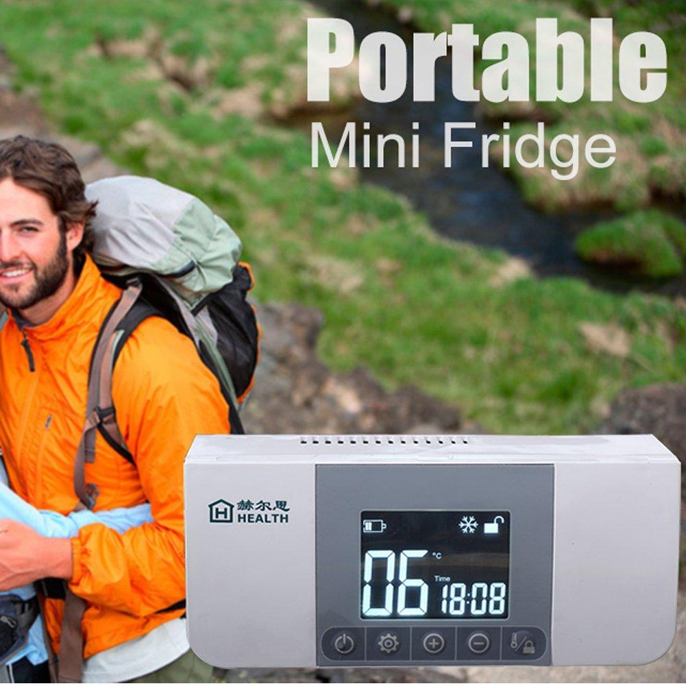 Cenblue ミニ充電式ポータブルインスリンクーラーボックス - LCDディスプレイ2-8°C車インスリンクーラーミニ冷蔵庫インスリン B075ZRKJTP