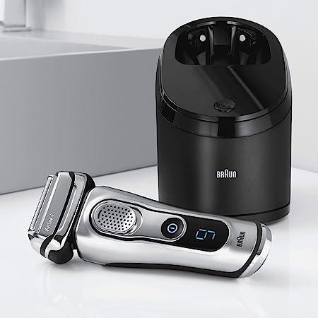 Braun Series 9 9090cc - Afeitadora eléctrica con estación ...