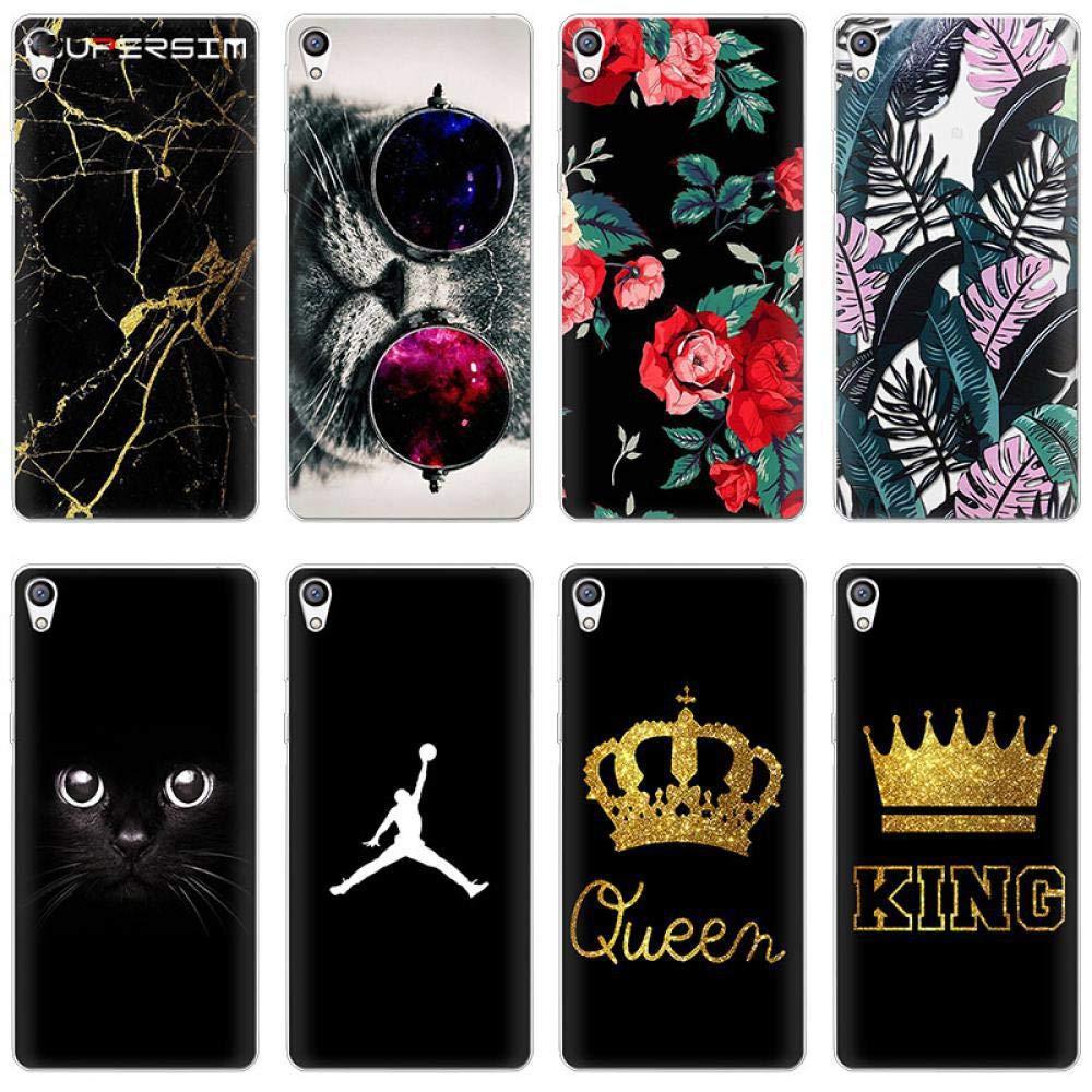 Amazon.com: King Queen for Sony Xperia X Z5 L1 XA1 XA2 XZ ...
