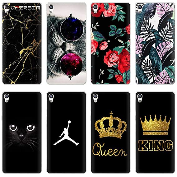 Amazon.com: King Queen for Sony Xperia X Z5 L1 XA1 XA2 XZ ...