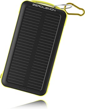 ZeroLemon 20000mAh Dual USB Solar Power Bank