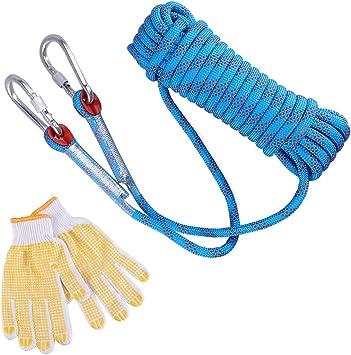 LIOOBO Equipo Auxiliar de cordón Auxiliar de rapel de ...