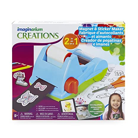 Imaginarium 2 in 1 Magnet & Sticker Maker