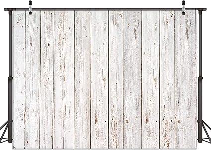 Dudaacvt Fotohintergrund Aus Vinyl Grauer Holzboden Kamera