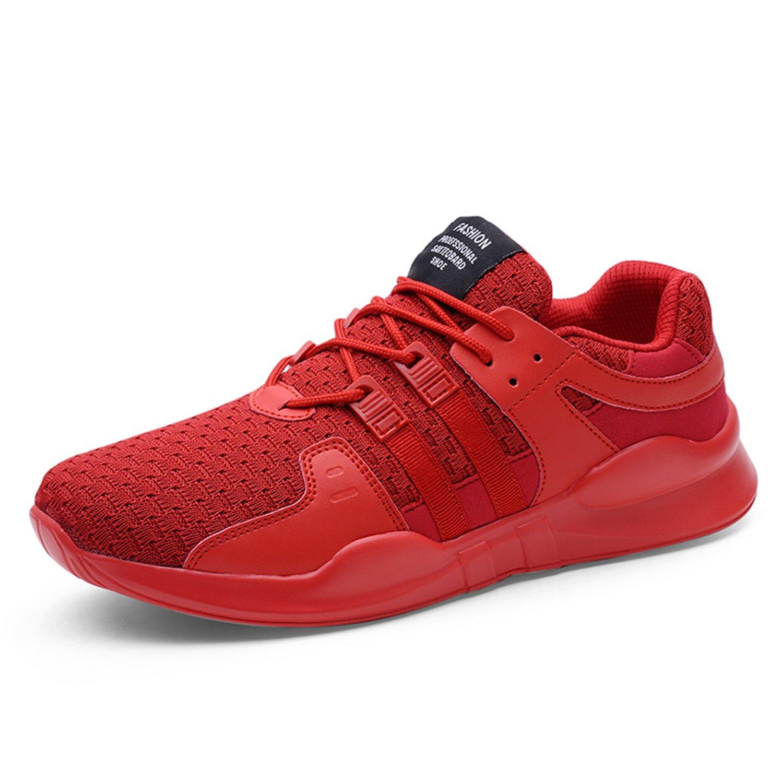 Bornran - Sandalias de Malla Hombre 39.5 EU=44 EU=27 cm|Red