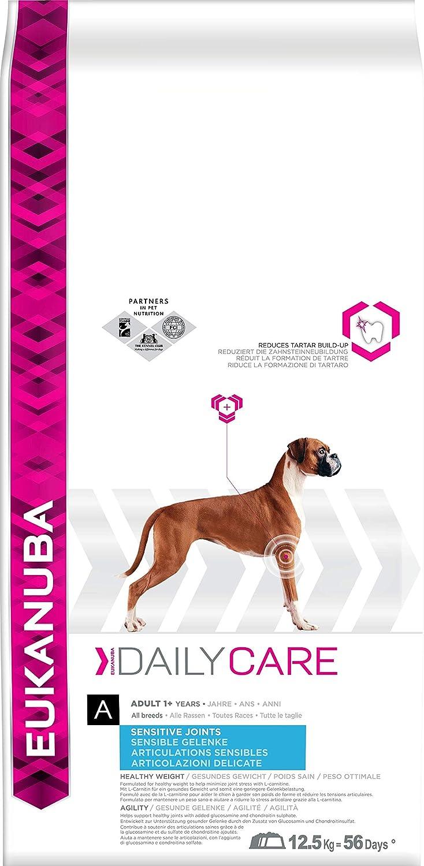 Eukanuba Daily Care Adulto - Alimento seco para perros con una articulaciones sensibles, 12,5 kg