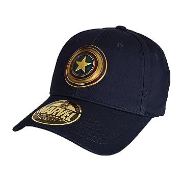 Cotton Division Capitán América Basecap Shield Metal Logo Marvel ...