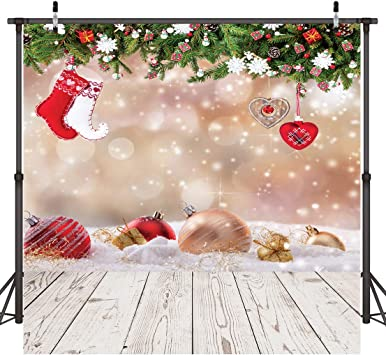 10x12 FT Photography Backdrop Reindeer and Santa Delivering Gifts on a Vintage Plane Winter Noel Illustration Background for Photography Kids Adult Photo Booth Video Shoot Vinyl Studio Props
