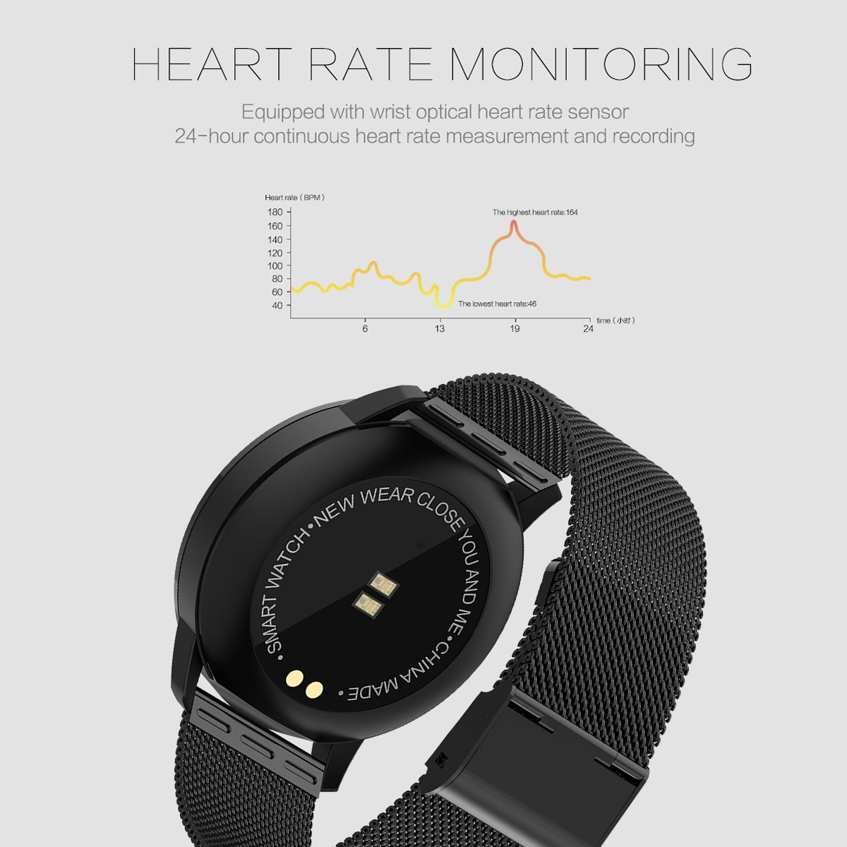 Amazon.com: Fitness Tracker Bluetooth Smart Watch Heart Rate Blood Pressure Pedometer Calorie Activity Tracker: Watches