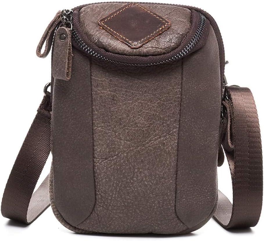 NKns Gifts For Men Leather Mens Bag Belt Small Waist Bag Shoulder Bag For Meng Messenger Bag Messenger Bag Mens Pockets: Amazon.es: Deportes y aire libre