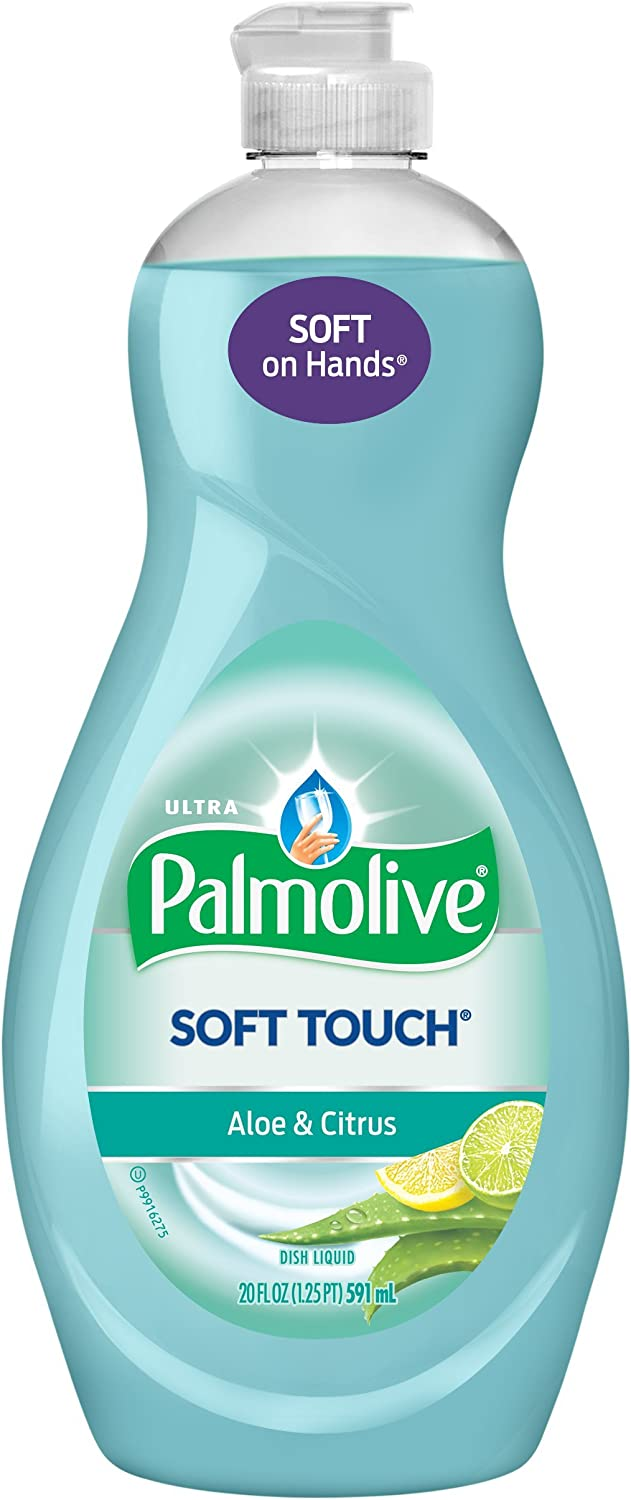 Palmolive Ultra Dish Liquid, Soft Touch Aloe and Citrus, 20 Ounce