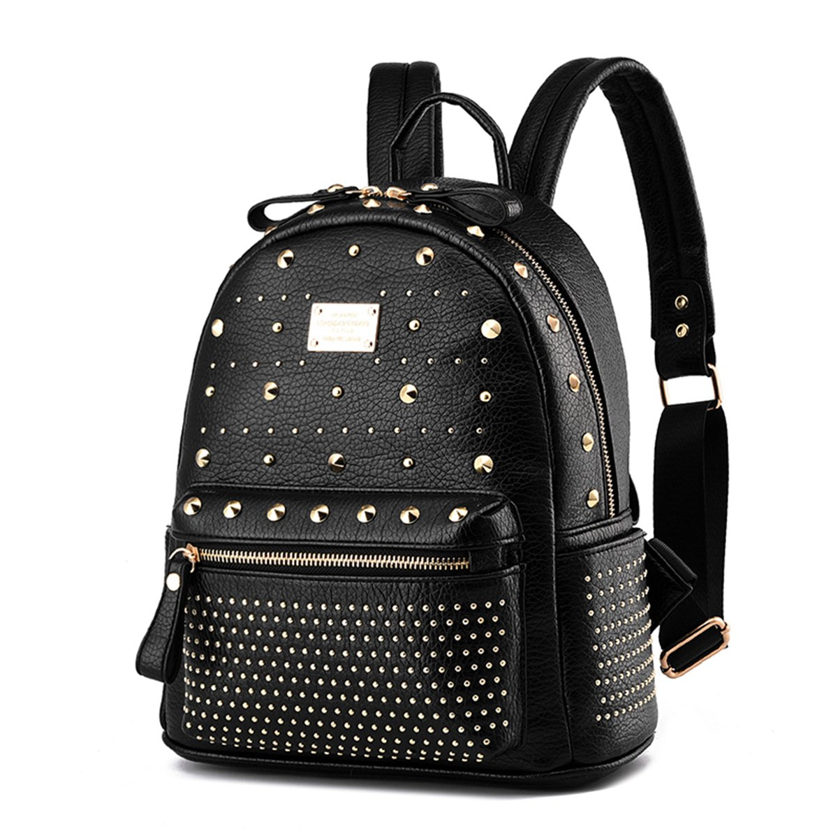 Amazon.com  Women s Mini Rivet Studded Leather Backpack Waterproof Purse  Backpacks Travel Shoulder Bag  Computers   Accessories 0cbe89103ab01