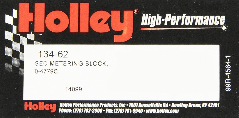 Holley 134-66 Secondary Metering Block