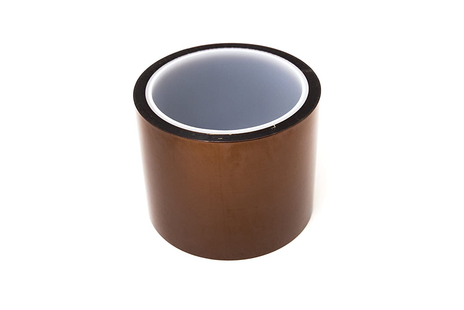 Bertech Low Static Polyimide Tape 3//8 Wide x 36 Yards Long 1 Mil Thick on a 3 Core