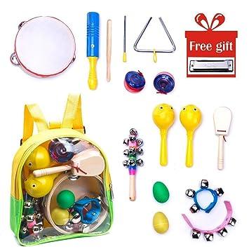 Musikinstrumente Spielzeug Set Rasseln Set Kinder Geschenk Rhythm Band Langlebig Musik & Instrumente