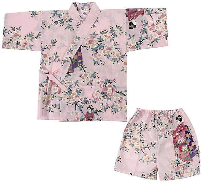 Amazon.com: Kimono Japón Niñas Disfraz de Halloween con ...