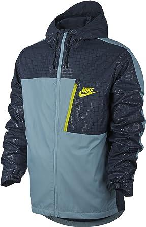 Nike M NSW Av15 Jkt HD Wvn Wngr Chaqueta, Hombre: Amazon.es ...