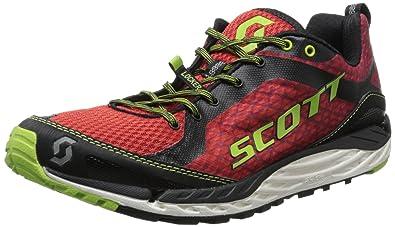 7813c34226165 Scott Running Men's T2 Kinabalu 2.0 Mens Running Shoe,Red/Green,8 D US