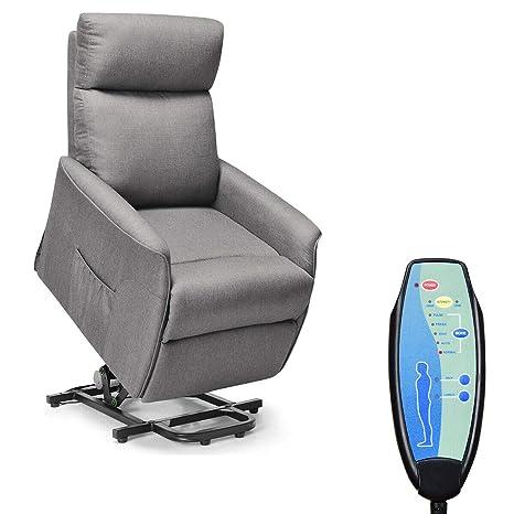 Amazon.com: Giantex - Silla reclinable para personas mayores ...