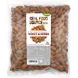 RealFoodSource Certified Organic Whole Natural Almonds (1kg)