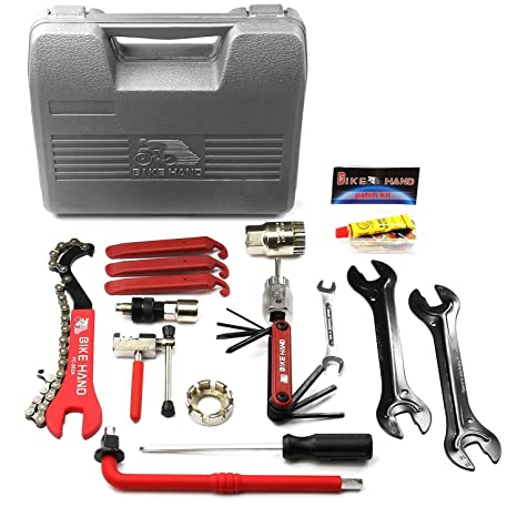 8068b55b1c4 Amazon.com   Bikehand Bike Bicycle Repair Tools Tool Kit Set ...