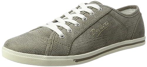 Dockers by Gerli 30PO217 - zapatilla deportiva de lona mujer, color gris, talla 41