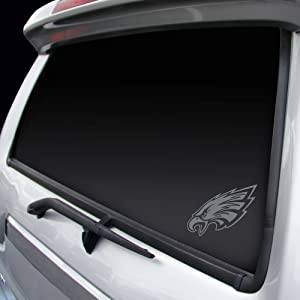 "Rico NFL Eagles Philadelphia Window Graphic Sticker, 9"" x 5"" x 0.2"", Team Logo"