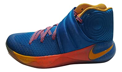 newest c3441 f56a0 Image Unavailable. Image not available for. Colour  Nike Kyrie 2 II Promo  EYBL Blue Yellow ...
